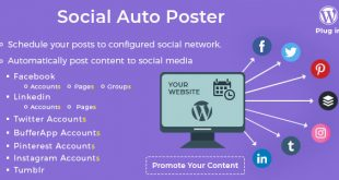 Social Auto Poster |  WordPress Plugin